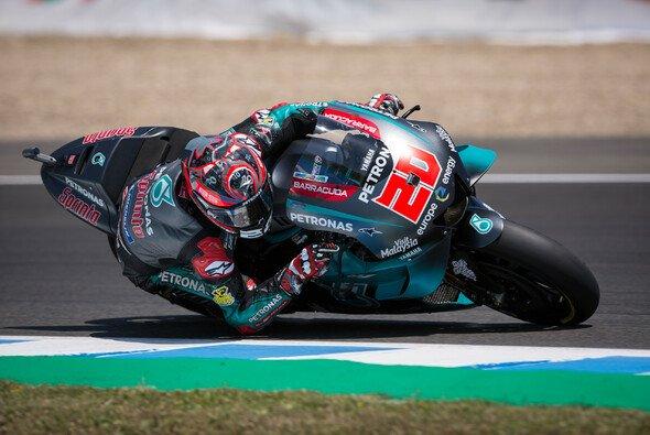 Fabio Quartararo stellt seine Yamaha auf die Pole Position - Foto: Tobias Linke