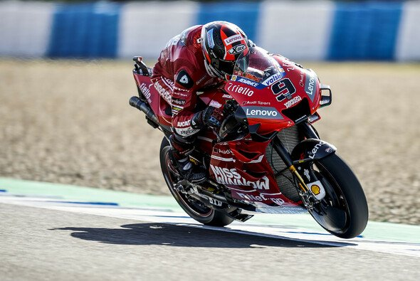 Danilo Petrucci ist neuer Rundenrekord-Halter in Jerez - Foto: Ducati