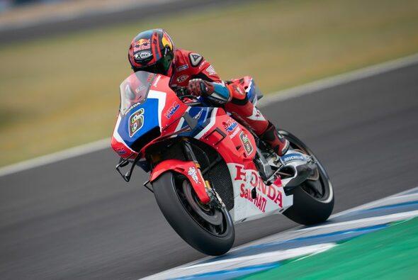 Stefan Bradl überzeugte mit Platz 10 in Jerez - Foto: HRC