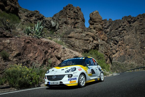 Gregoire Munster auf Gran Canaria - Foto: ADAC Opel Rallye Junior-Team