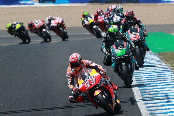 Marc Marquez kontrollierte in Jerez das MotoGP-Feld - Foto: LAT Images