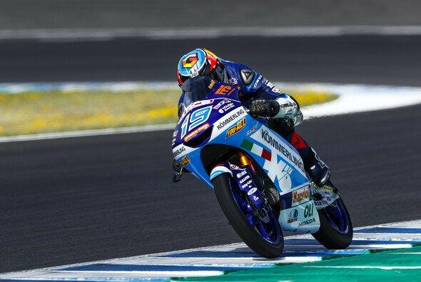 Gabriel Rodrigo war der schnellste Moto3-Pilot bei den Testfahrten in Jerez - Foto: Gresini Racing