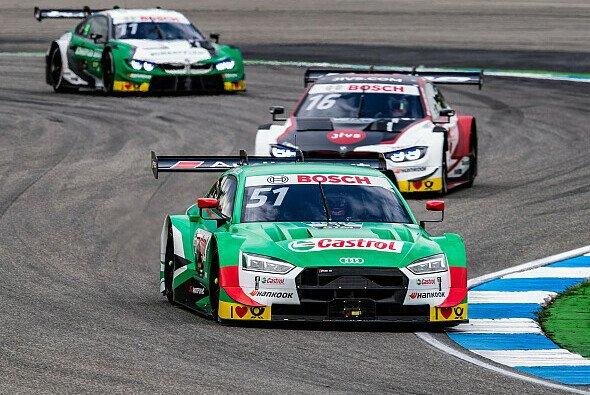 Nico Müller feiert in Misano seinen zweiten Sieg in der DTM - Foto: Audi