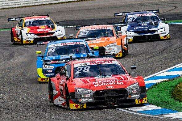 Loic Duval beschert Audi die erste Bestzeit in Assen - Foto: Audi