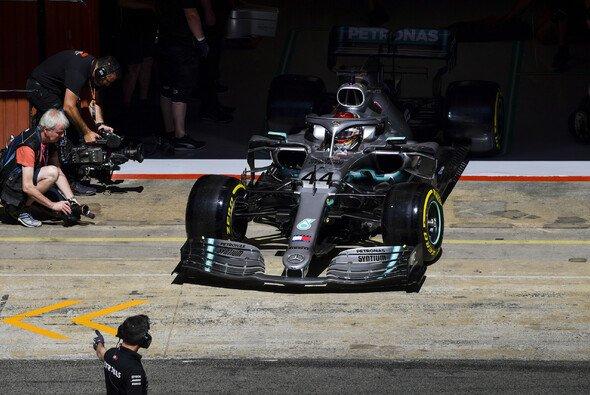 Mercedes hat Ferrari trotz einer überlegenen Bestzeit im Training weiter auf der Rechnung - Foto: LAT Images