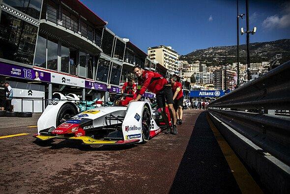 Die Formel E nutzt auch mit den Gen2-Autos das kurze Layout in Monaco - Foto: Audi Communications Motorsport