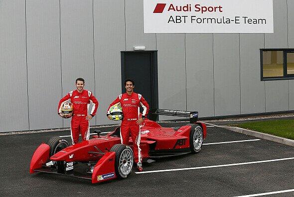 Daniel Abt und Lucas di Grassi sind seit Saison 1 Teamkollegen - Foto: Audi AG