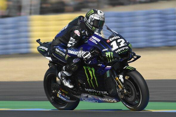 Maverick Vinales fuhr am Freitag in Le Mans zur Tagesbestzeit - Foto: LAT Images