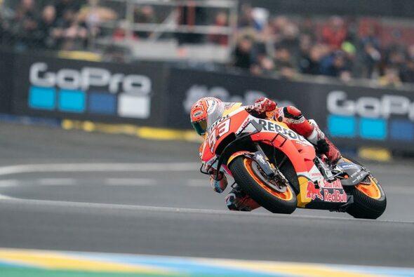Marc Marquez siegte auch in Le Mans - Foto: HRC