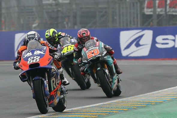Die MotoGP erlebte in Le Mans ein turbulentes Qualifying - Foto: Tech 3
