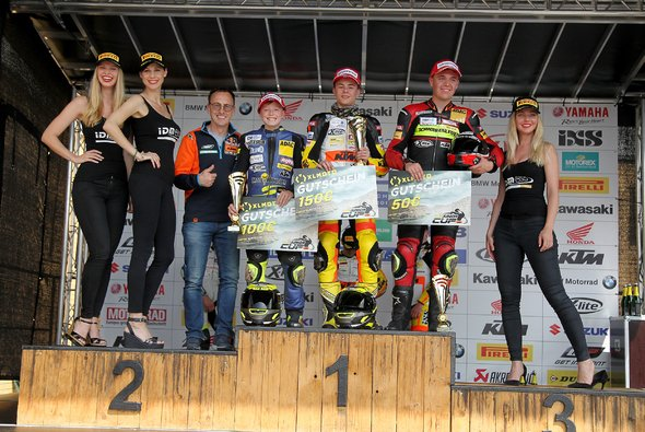 ADAC Stiftung Sport-Förderpilot Lennox Lehmann gewinnt das zweite Rennen - Foto: ADAC Junior Cup