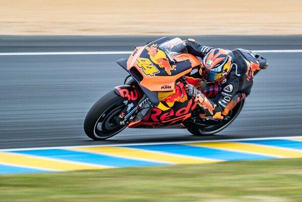 Pol Espargaro gibt an diesem Wochenende in Le Mans Gas - Foto: KTM