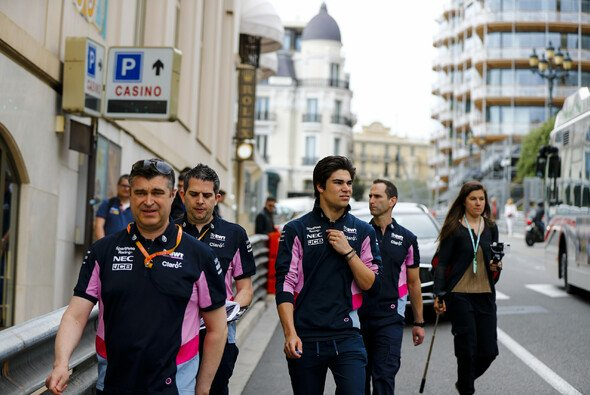 Racing Point beim Monaco-Track-Walk - Foto: LAT Images