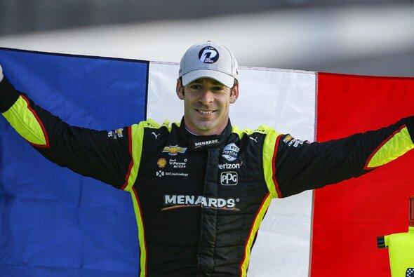 Simon Pagenaud gewinnt das zweite virtuelle Indycar-Rennen in Serie - Foto: LAT Images