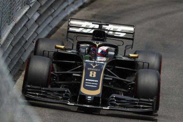 Romain Grosjean in Monaco - Foto: LAT Images