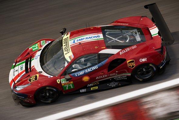 Im neuesten GRID kann man auch im WEC-Ferrari sitzen - Foto: Codemasters