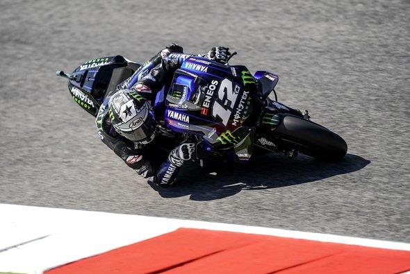 Maverick Vinales gelang wieder einmal eine Trainingsbestzeit - Foto: Monster Yamaha
