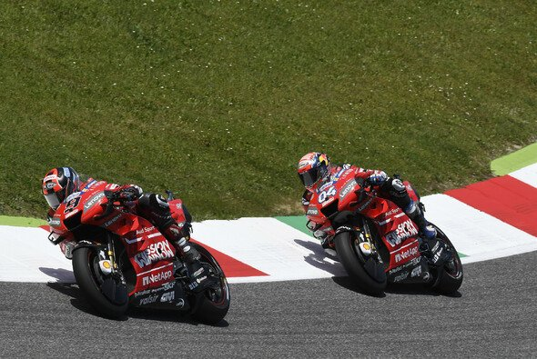 Danilo Petrucci will Andrea Dovizioso zum Titel verhelfen - Foto: Ducati