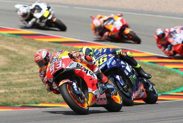Countdown: In rund einem Monat startet die MotoGP am Sachsenring - Foto: Schneider