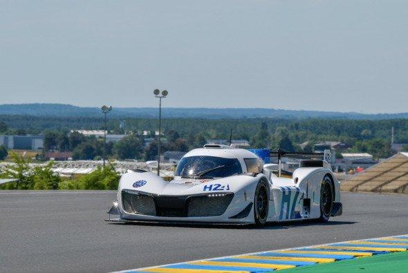 Der Wasserstoff-Prototyp LMPH2G basierte noch auf einem LMP3-Boliden - Foto: Le Mans Org
