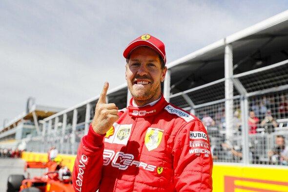 Sebastian Vettel feierte seine erste Pole seit Hockenheim 2018 ausgelassen - Foto: LAT Images