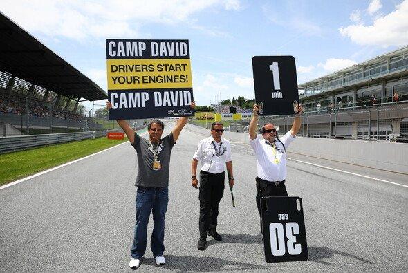 Ex-F1-Star Juan Pablo Montoya besuchte den Red Bull Ring - Foto: ADAC GT Masters