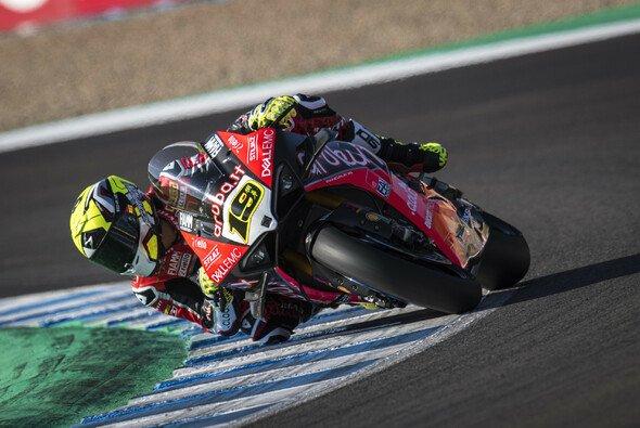 Alvaro Bautista siegte im ersten WSBK-Lauf in Jerez - Foto: Ducati