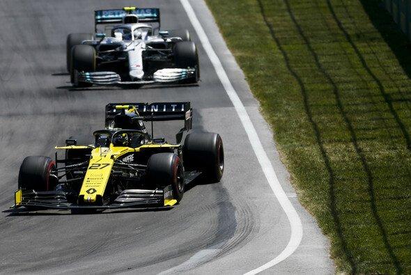 An den Renault biss sich Valtteri Bottas in Montreal lange die Zähne aus - Foto: LAT Images