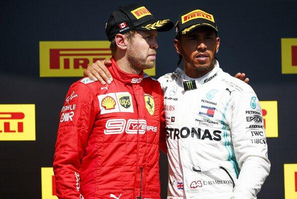 Lewis Hamilton stärkt Sebastian Vettel nach dessen Aktion im Formel-1-Rennen in Kanada den Rücken - Foto: LAT Images