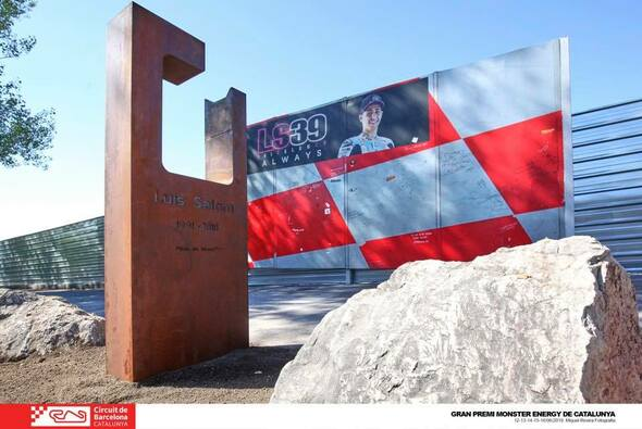 Luis Salom hat am Circuito de Barcelona-Catalunya seine eigene Gedenkstätte bekommen - Foto: Luis Salom/Facebook