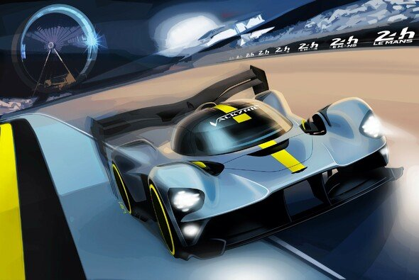 Aston Martin wird 2020 mit dem Hypercar Valkyrie in Le Mans antreten - Foto: Aston Martin