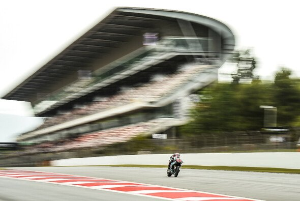 Fabio Quartararo fuhr in Barcelona zur Tagesbestzeit - Foto: LAT Images