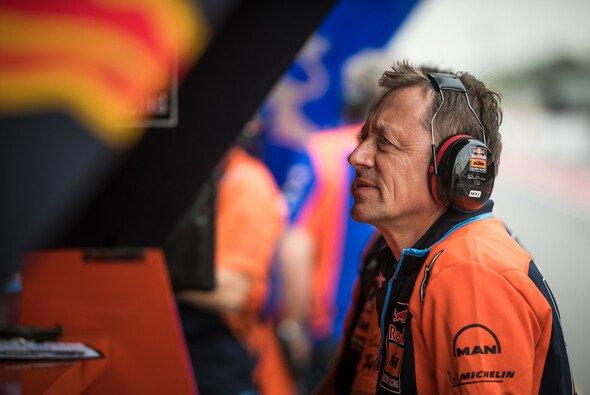 Mike Leitner sieht große Herausforderungen auf sein Team zukommen - Foto: KTM