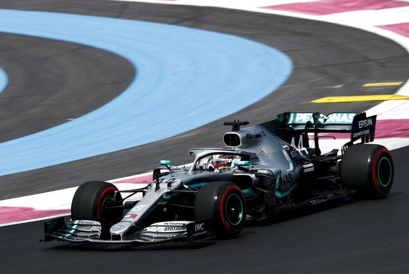 Lewis Hamilton holte sich im 1. Freien Training zum Frankreich GP 2019 die Bestzeit - Foto: LAT Images