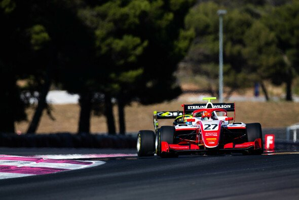 Jehan Daruvala feiert in Frankreich seinen zweiten Formel-3-Sieg - Foto: LAT Images