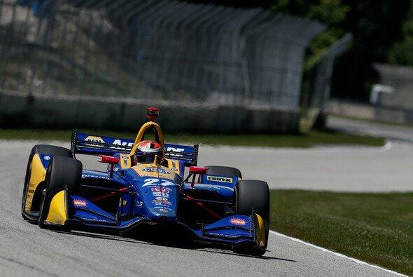 Alexander Rossi diktierte das Geschehen auf der Road America - Foto: IndyCar