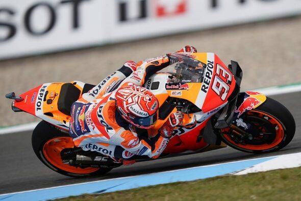 Marc Marquez fuhr im Qualifying von Assen in Startreihe zwei - Foto: Repsol Honda