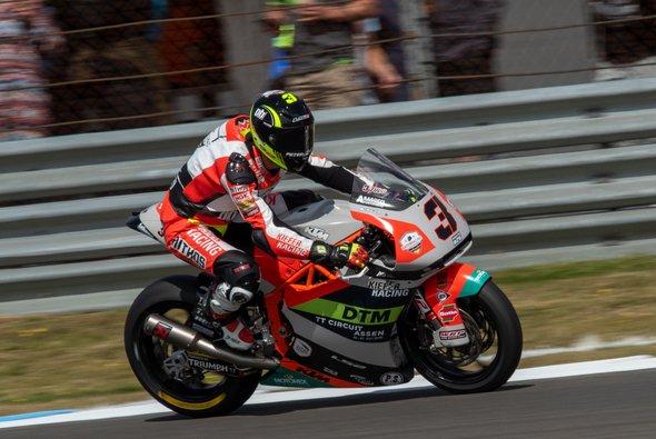 Lukas Tulovic will im MotoGP-Paddock bleiben - Foto: Kiefer Racing