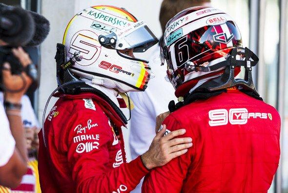 Sebastian Vettel hat 2019 nicht nur mit Teamkollege Charles Leclerc zu kämpfen - Foto: Ferrari