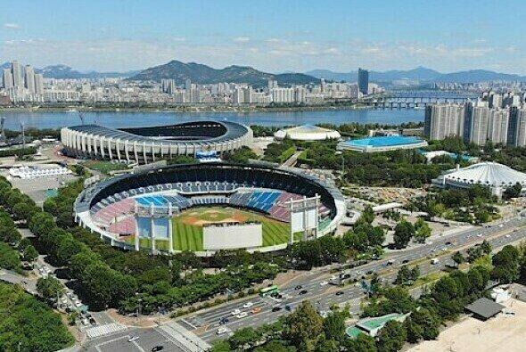 Die Formel E fährt 2020 in Seoul mitten durchs Olympia-Stadion - Foto: FIA Formula E