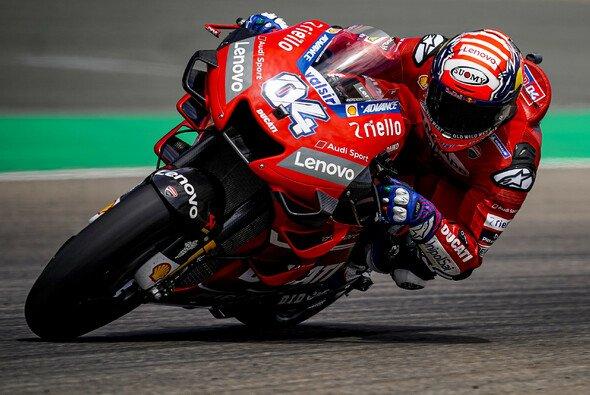 Andrea Dovizioso startete mit einer Bestzeit in die zweite Saisonhälfte - Foto: Ducati