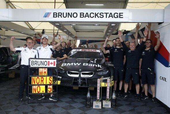 Der alleinige Mr. Norisring: Bruno Spengler nach seinem fünften Sieg auf dem Stadtkurs - Foto: BMW Motorsport