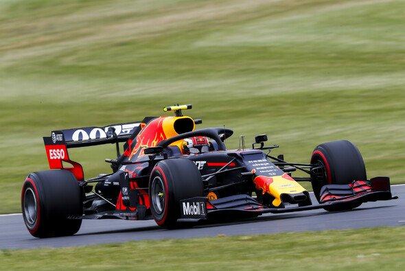Pierre Gasly fuhr in Silverstone sein bestes Rennen für Red Bull - Foto: LAT Images
