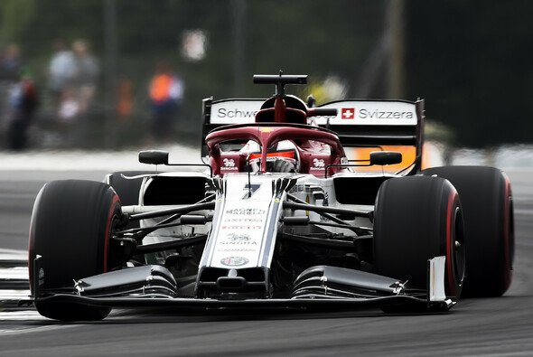Kimi Räikkönen fuhr in Silverstone auf Platz acht - Foto: LAT Images