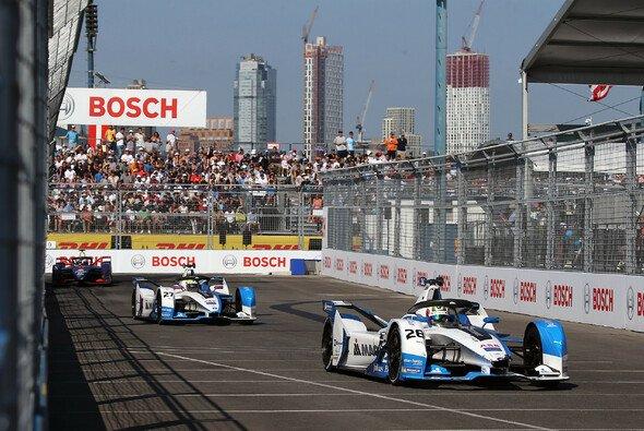 Top-Ergebnis in New York: BMW am Samstag auf den Plätzen drei und vier - Foto: BMW Motorsport