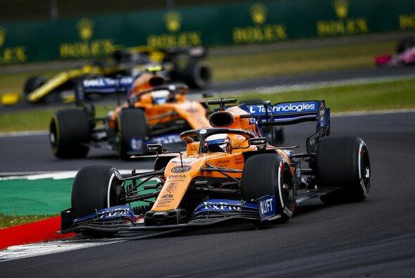 McLaren war auch beim Formel-1-Rennen in Silverstone die Nummer eins im Mittelfeld - Foto: LAT Images
