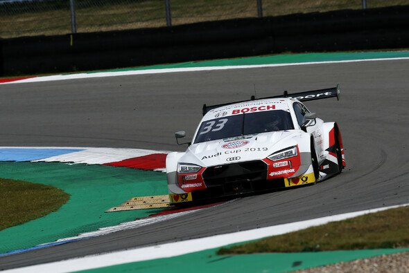 Rene Rast erzielt die Pole Position für sein 50. Rennen in der DTM - Foto: LAT Images