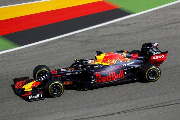 Max Verstappen überstand in Hockenheim Red Bulls Fauxpas mit Hondas Qualifying-Modus und holte Startplatz zwei - Foto: LAT Images