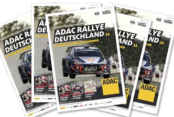 Das offizielle Magazin zur ADAC Rallye Deutschland - Foto: ADAC Rallye Deutschland