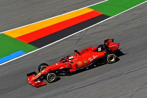 Sebastian Vettel steht beim Formel-1-Rennen in Hockenheim heute vor einer schwierigen Aufgabe - Foto: Ferrari
